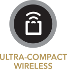 ULTRA-COMPACT WIRELSS